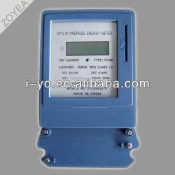 3p 4w prépayées compteur électrique