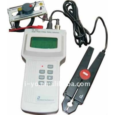 En- sitio medidor de energía tester