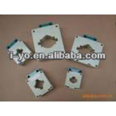 blanco forma cuadrada de plástico para el transformador de corriente