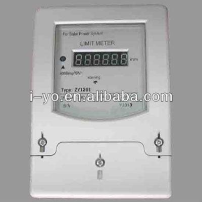 Zy-1201 de alta calidad de límite para medidor de energía solar sistema