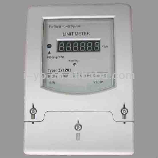 高品質zy-1201制限太陽光発電システム用メーター