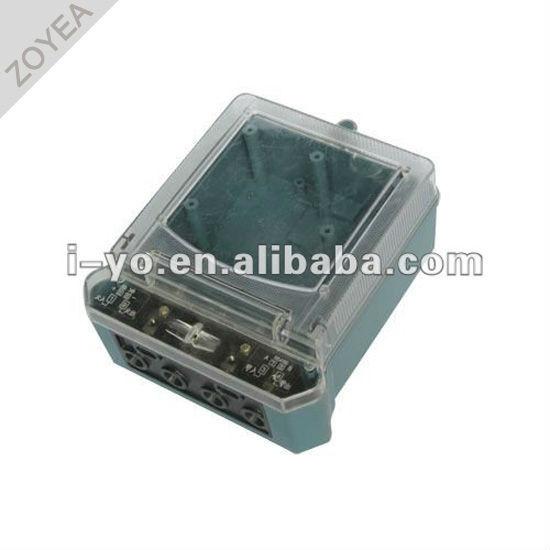Dds-001-2 compteur en plastique cas pour compteur de kwh