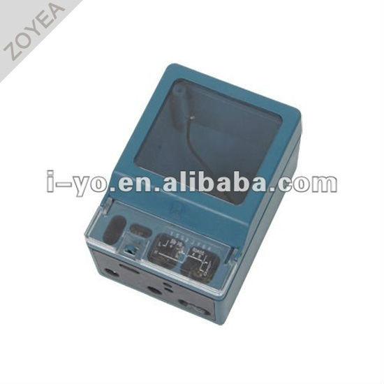 Dds-009-hm compteur en plastique cas pour compteur de kwh