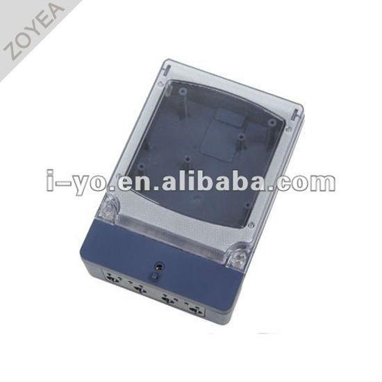 Dds-010 de plástico caja del medidor para contador de kwh