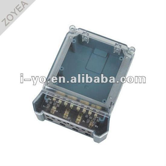 Dds-014 compteur en plastique cas pour compteur de kwh