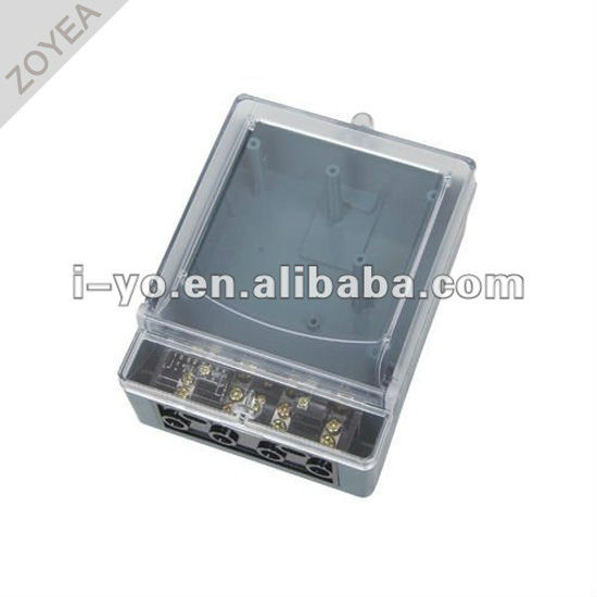 Ddsy- 008 de plástico caja del medidor para contador de kwh