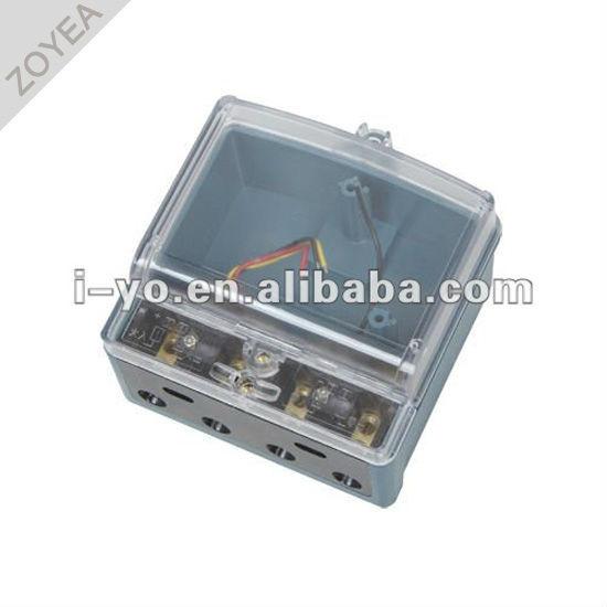 Dds-006 de plástico caja del medidor para contador de kwh