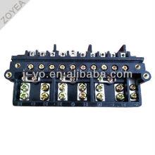 3-phキロワット時メーターの端子台