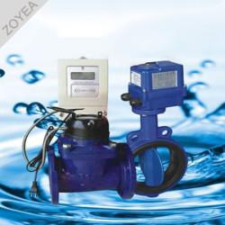 Medidor de agua prepago de gran calibre