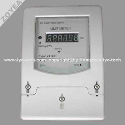 Medidor de energía de límite de prepago / Medidor de límite / limitador de energía