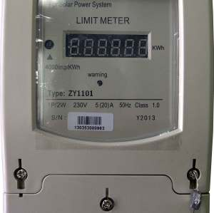 Energy Limiter for Solar, Wind or Hybrid Power