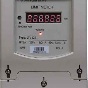 Wholesale Energy Limiter for Solar, Wind or Hybrid Power