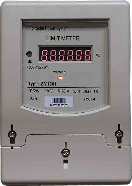 Limitador de energía al por mayor para energía solar, eólica o híbrida