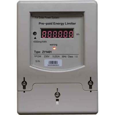 Limitador de energía de alta eficiencia para energía solar, eólica o híbrida