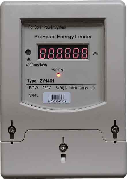 High efficiency Energy Limiter for Solar, Wind or Hybrid Power