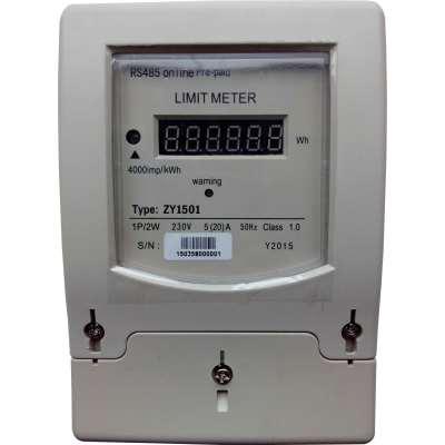 Limitador de energía activa y reactiva para energía solar, eólica o híbrida