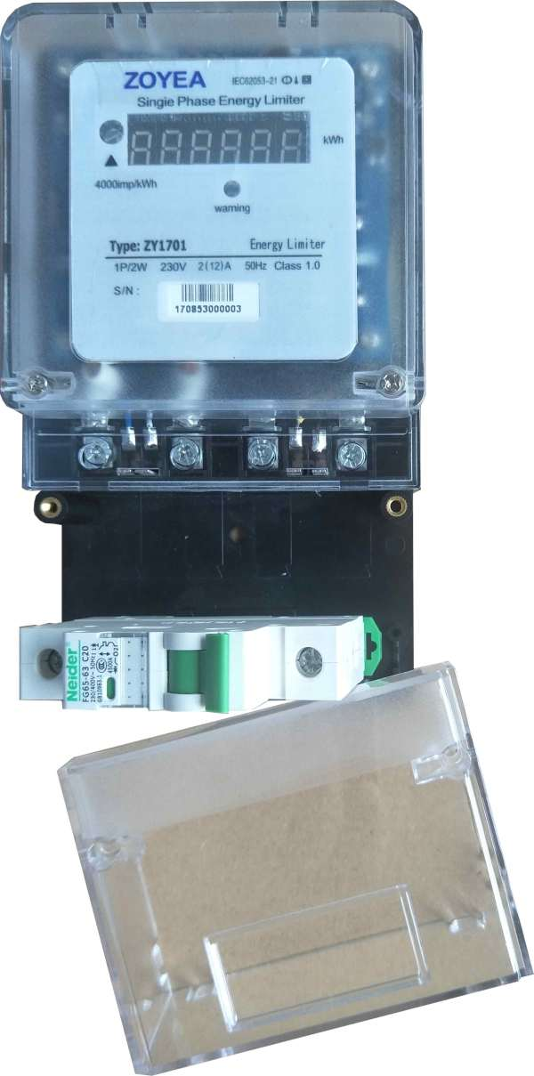 Power And Energy Meters Energy Limiter for Solar, Wind or Hybrid Power