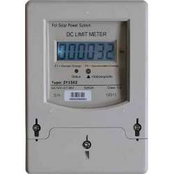 Contadores de energía totalmente electrónicos. Limitador de energía para energía solar, eólica o híbrida.