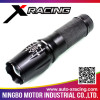 XRACING Newest design led flashlight with timer for wholesales