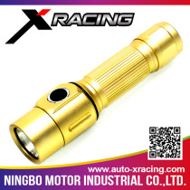 XRACING Top Quality Customized Promotion Aluminum flashlight led flashlight with great price