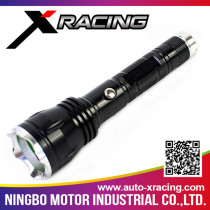 XRACING Perfect design geepas rechargeable led flashlight with low price