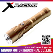 XRACING High brightness led solar flashlight with high quality