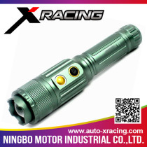 XRACING Top Quality Customized Promotion Aluminum led flashlight with laser pointer with low price