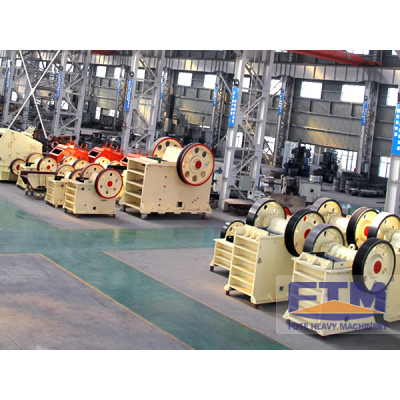 High Efficient Miner Mini Jaw Crusher