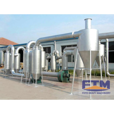 High Capacity  Airflow Sawdust dryer