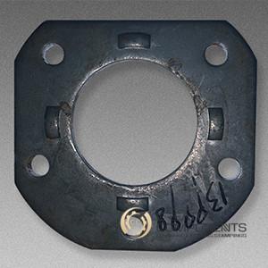SAE 1020 Steel Spindle Flange Hardware Stamping