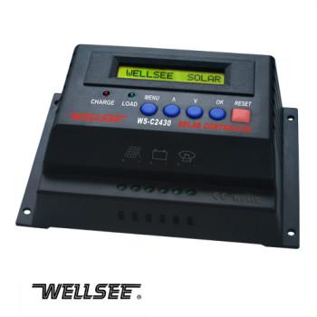WELLSEE WS-C2430 30A 12/24V solar controller