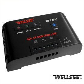 WELLSEE WS-L4860 60A 48V solar light controller