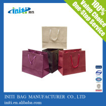 free sample paper bag/china wholesale reusable free sample paper bag