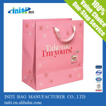 2014 cheap wholesale ribbon tie gift bags