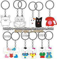 various style keychain with mobile phone