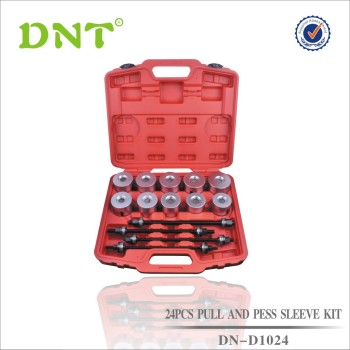 24Pcs Puller And Press Sleeve Kit With 4 Spindles
