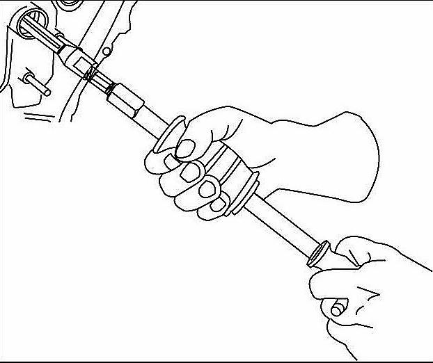 Bearing Puller Assembly Drawing : Bearing puller drawing