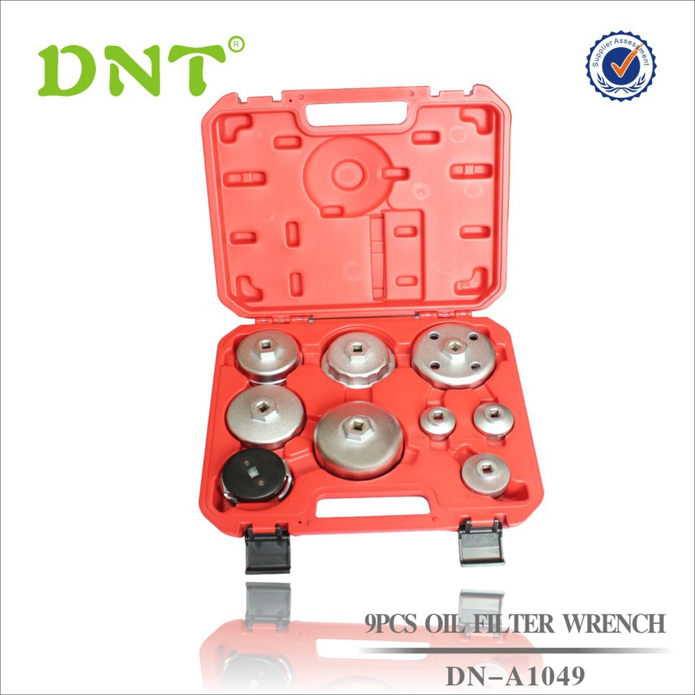 9Pc Cap Oil Filter Wrench for Toyota,BMW,Ford,Mercedes Benz,Mazada