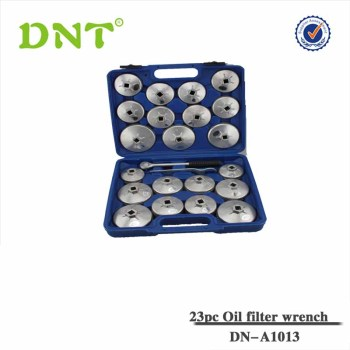 23Pc Aluminum Cap Oil Filter Wrench