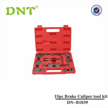 15Pc Brake Caliper Rewind Tool Set