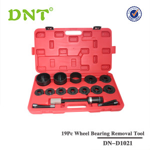 19Pc FWD Wheel Bearing Removal Tool Set