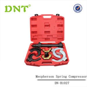 Fork macpherson strut spring compressor