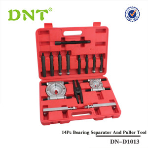 14Pc Bearing Separator And Puller Tool Set