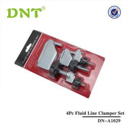 4Pc Fluid Line Clamper Set