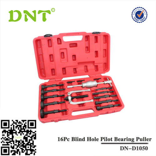 16pc Blind Hole Pilot Bearing Puller Slide Hammer Puller