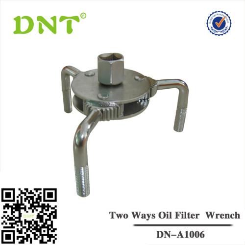 Ölfilterspinne, 3-armig, 10 (3/8) Innen-4-kant-Antrieb, Außen-6-kant 19 mm