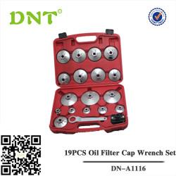19PCS Oil Filter Cap Wrench Set