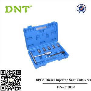 8PCS Diesel Injector Seat Cutter Set