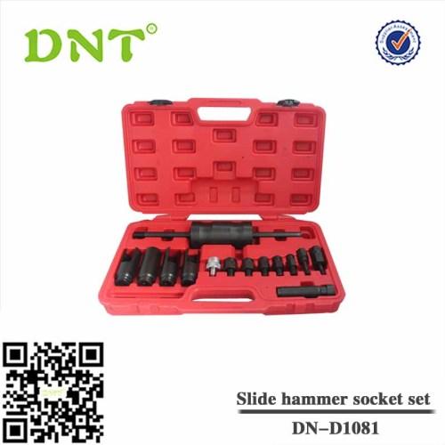 14PC inyector herramienta removedor tirador