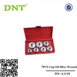 7PCS chave de filtro tampão